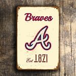ATLANTA BRAVES SIGN