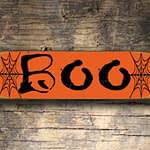 Boo Sign 5