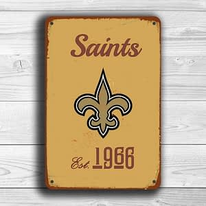 New ORLEANS SAINTS Sign