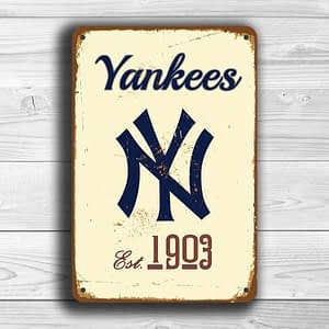 NEW YORK YANKEES Sign