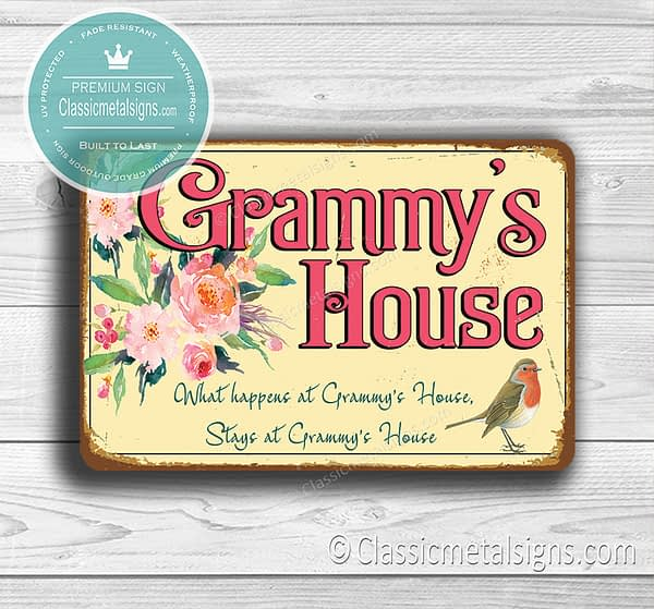Grammy's House Signs