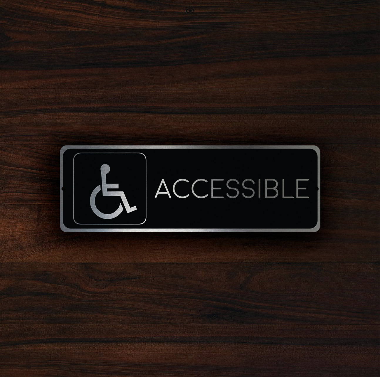 ACCESSIBLE RESTROOM SIGN