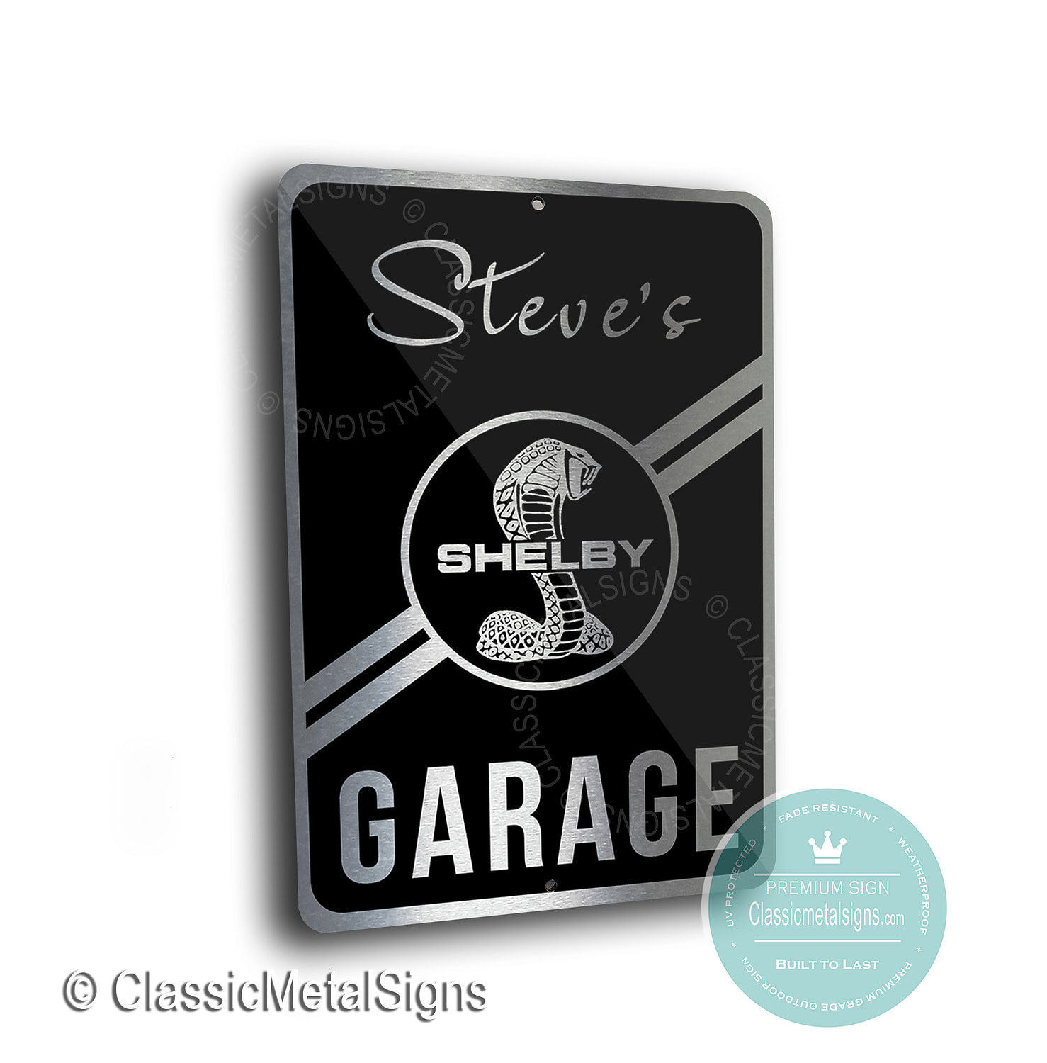 Shelby Garage Signs