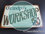 Workshop Signs - Classic Metal Signs