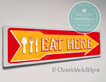 Eat Here Signs