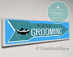 Pet Grooming Sign
