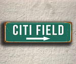 Vintage style Citi Field Sign