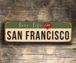 Love Life in SAN FRANCISCO Sign