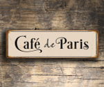 Cafe De Paris Decor