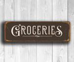 Groceries Signs
