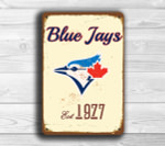 Toronto blue Jays Baseball sign