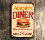 PERSONALIZED DINER SIGN