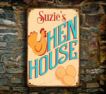 Hen House Signs