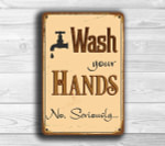 Wash Your Hands Sign