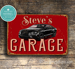 Personalized Bently Garage Sign