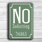 classic-no-soliciting-sign