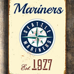 SEATTLE-MARINERS-Sign-Vintage-style-Seattle-Mariners-Est.-1977-Composite-Aluminum-Seattle-Mariners-in-team-colors-SPORTS-fan-Sign-Mariners-3