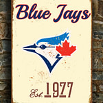 Toronto-BLUE-JAYS-Sign-Vintage-style-Toronto-Blue-Jays-Est.-1977-Composite-Aluminum-Toronto-Blue-Jays-Sign-team-colors-BASEBALL-Blue-Jays-3