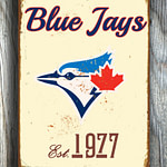 Toronto-BLUE-JAYS-Sign-Vintage-style-Toronto-Blue-Jays-Est.-1977-Composite-Aluminum-Toronto-Blue-Jays-Sign-team-colors-BASEBALL-Blue-Jays-4