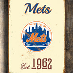 Vintage-style-New-YORK-METS-Sign-New-York-Mets-Est.-1962-Composite-Aluminum-New-York-Mets-in-team-colors-WORLDWIDE-Shipping-1