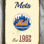 Vintage-style-New-YORK-METS-Sign-New-York-Mets-Est.-1962-Composite-Aluminum-New-York-Mets-in-team-colors-WORLDWIDE-Shipping-3