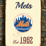 Vintage-style-New-YORK-METS-Sign-New-York-Mets-Est.-1962-Composite-Aluminum-New-York-Mets-in-team-colors-WORLDWIDE-Shipping-4