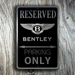 Bentley Garage Sign