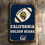 CALIFORNIA GOLDEN BEARS Sign