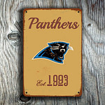 Carolina Panthers Logo Sign
