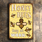 HONEY BEES SIGN