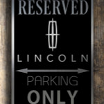 Lincoln Garage Sign