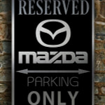 Mazda Only Sign