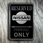 Nissan Only Sign