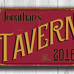 PERSONALIZED Tavern Sign