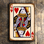 QUEEN of HEARTS Wall sign