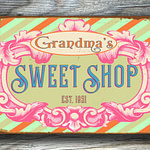 Store Sign Sweet Shop