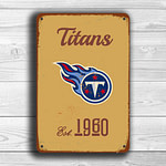 TENNESSEE TITANS Sign