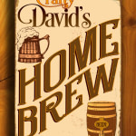 Vintage style Home Brew Sign