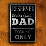 DAD Parking Only Sign 1