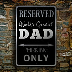DAD Parking Only Sign 4