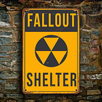 Fallout Shelter Sign 3