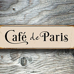 Cafe de Paris Sign 1