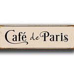 Cafe de Paris Sign 2
