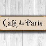 Cafe de Paris Sign 3