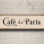 Cafe de Paris Sign 4