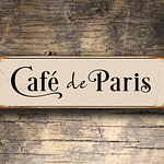 Cafe de Paris Sign 5
