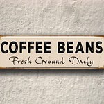 Coffee Beans Sign 2
