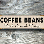 Coffee Beans Sign 4