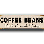 Coffee Beans Sign 5