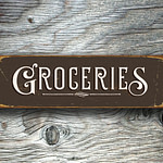Groceries Sign 5